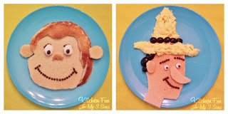 Curious George & The Man in the Yellow Hat Breakfast!