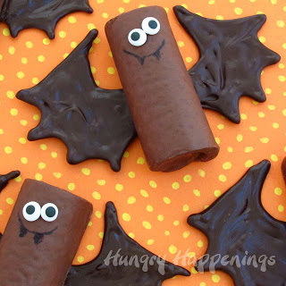 Chocolate Snack Cake Bats