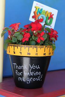 Flower Pot to make for a Teacher Gift