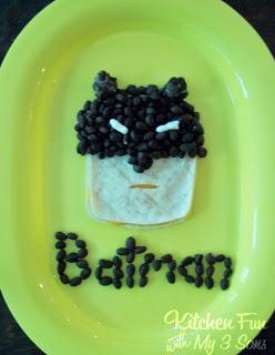 Mexican Batman Quesadilla