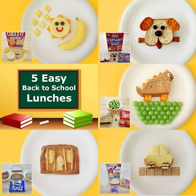 Fun & Easy Kids Back to School Lunches