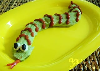Slithering Snake Burrito