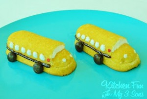 Back to School Bus Twinkies!