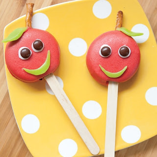 Apple Candy Pops