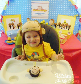 Curious George Cupcake
