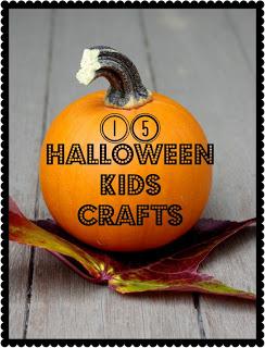 15 Halloween Kids Crafts