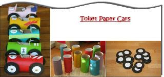 Toilet Paper Cars