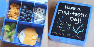 Fishy Bento Lunch