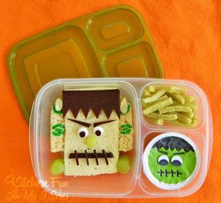 Frankenstein Bento Lunch