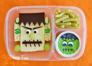Frankenstein Bento Lunch