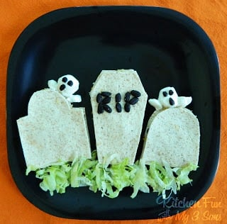 Mexican Grave Yard Quesadilla Dinner