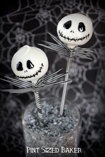Jack Skeleton Cake Pops