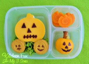 Pumpkin Bento Lunch