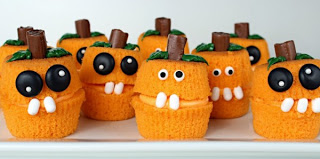Fall Pumpkin Cupcakes