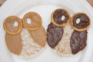 Owl Rice Cakes