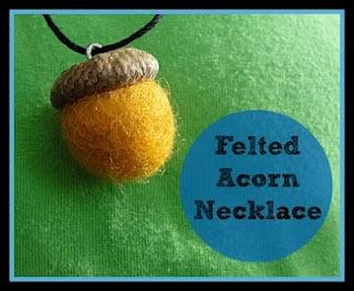 Acorn Necklaces