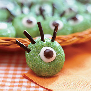 Ogre Eyeball Cookies