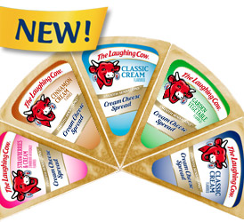 The Laughing Cow Cream Cheese