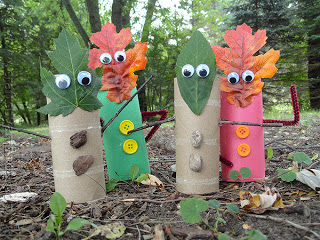 Fall Finger Puppets