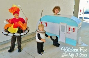 Our 2012 Homemade Halloween Costumes…Let's Go Camping!