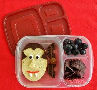 Halloween Dracula Bento Lunch