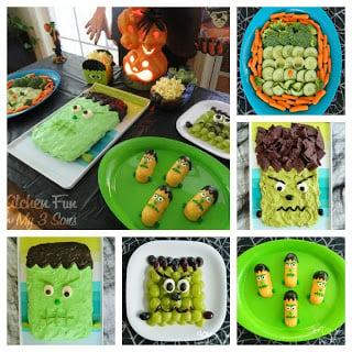 11 of our Frankenstein Fun Food Ideas!