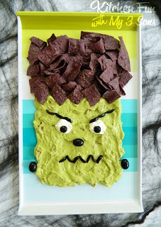 Frankenstein Chips & Dip