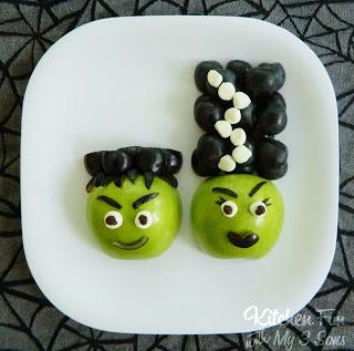 Frankenstein and his Bride Fruit Snack