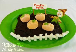 Marshmallow Pumpkin Patch