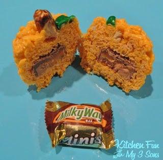 Pumpkin Surprise Treats