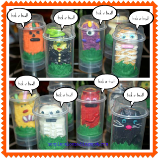 Trick or Treat Push up Pops