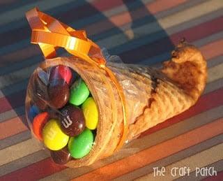 Waffle/Sugar Cone Cornucopia