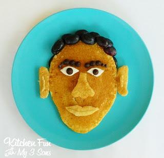 Barack Obama pancake
