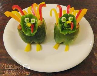 Turkey Stuffed Turkey Peppers