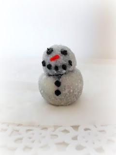 Oreo Snowmen Truffles