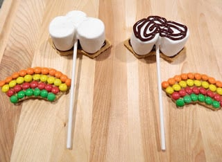 Make The S'mores and Put It on the Stick
