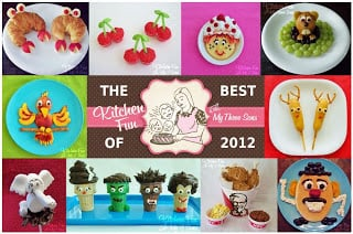 Our 25 Best Fun Food Creations of 2012!