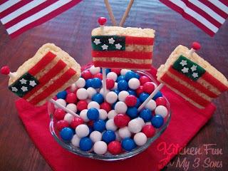 American Flag Pops