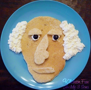 George Washington Pancakes