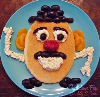 Mr. Potato Head Pancake