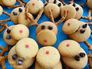 Mini Rudolph Cookies