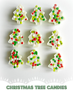 Cookie Filled Christmas Trees