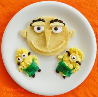 Despicable Me Breakfast