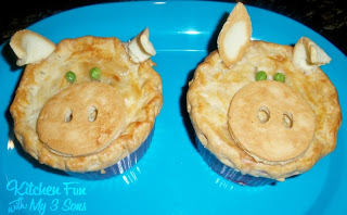 Piggy Pot Pies