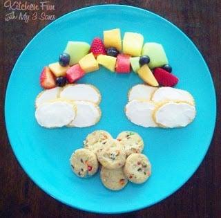 Rainbow Fruit and Treat Snack