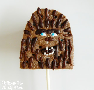 Chewy S'mores Pop