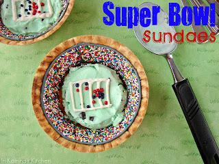 Superbowl Sundaes