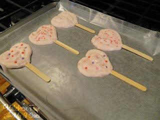 Put On A Tray and Freeze The Yogurt