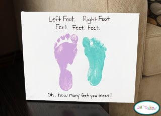 The Foot Book Dr. Seuss Craft