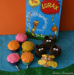 The Lorax Cupcakes